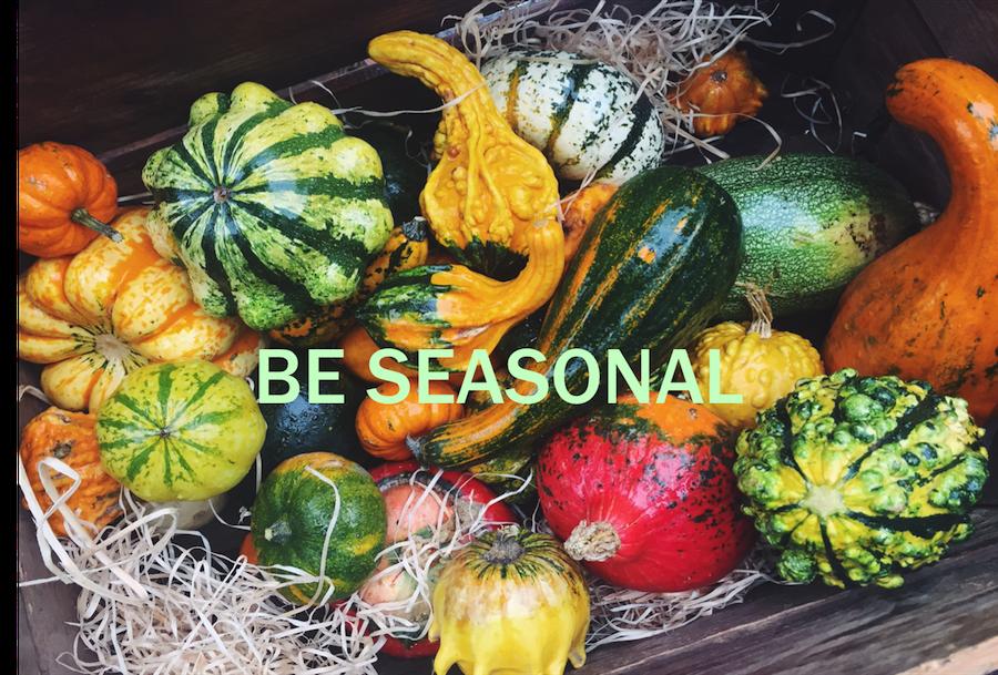 Vogel's Keep exploring, be seasonal