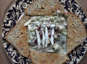 Vogels Toast Ticket Stilton Cream & Wild Mushrooms