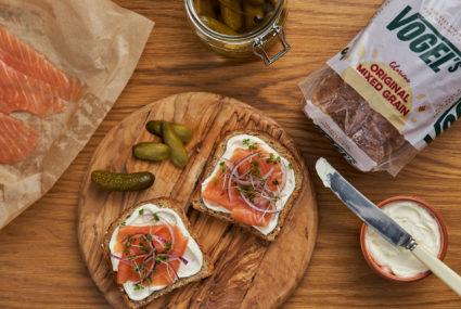 Scrumptious Smoked Salmon Open Sandwich