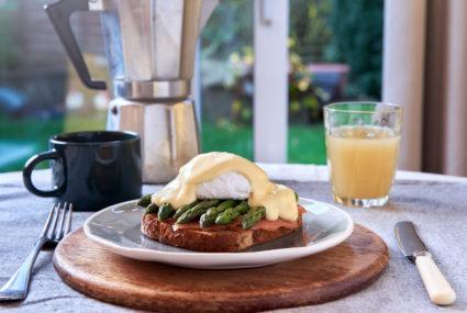 Salmon, Egg & Asparagus Breakfast